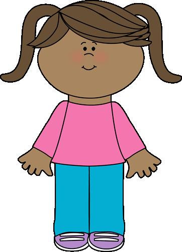 Cute Little Girl Yaycute free clip art!.