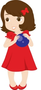 Clipart young lady.