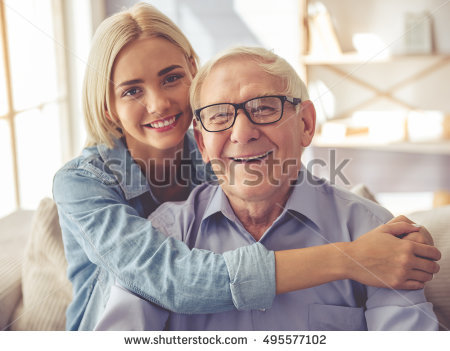 Grandfather Stock Images, Royalty.