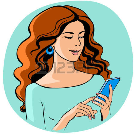 209 Teens Texting Stock Vector Illustration And Royalty Free Teens.