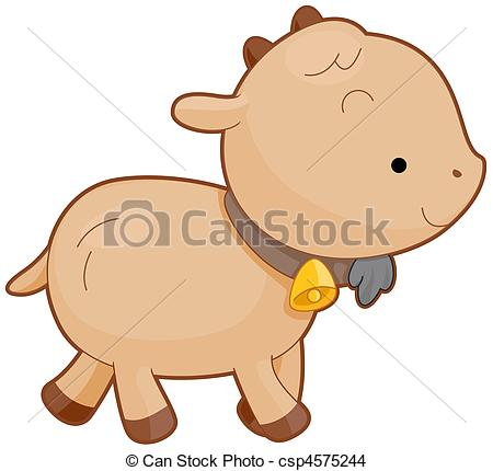 Goat kid Stock Illustrations. 733 Goat kid clip art images and.