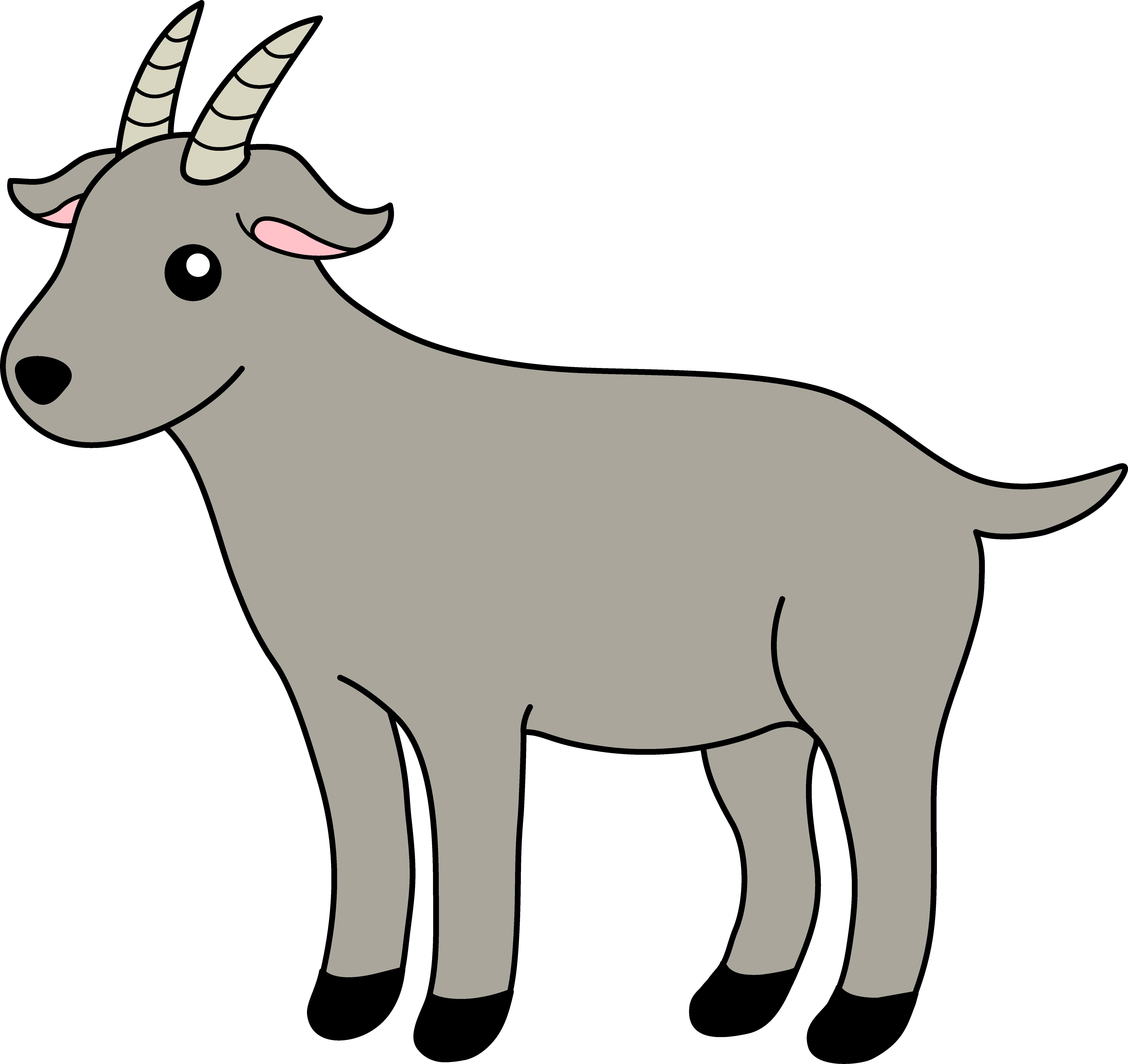 Kid goat clipart.