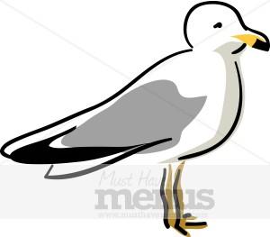 Seagull Clipart.
