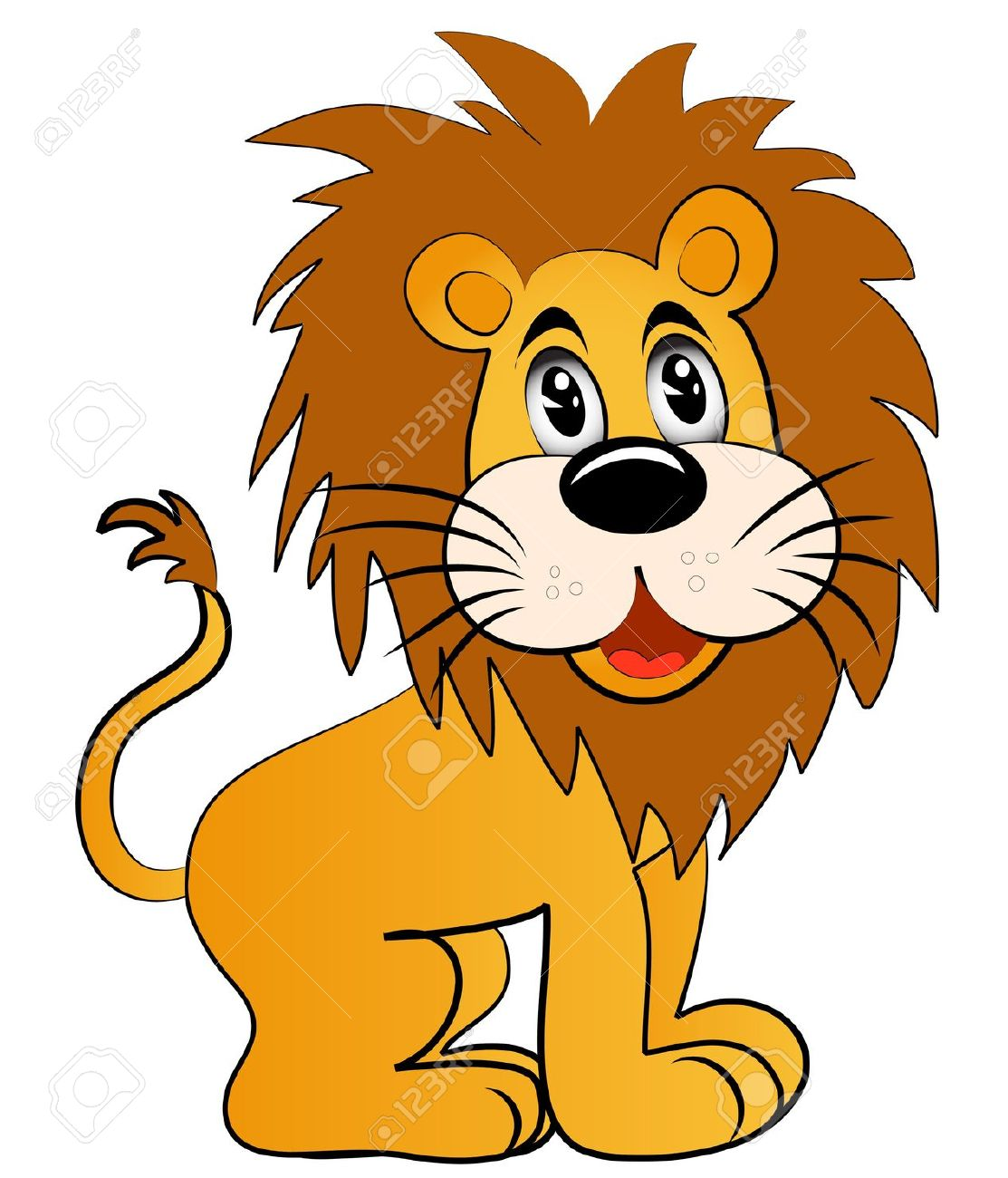 1,798 Young Lion Cliparts, Stock Vector And Royalty Free Young.