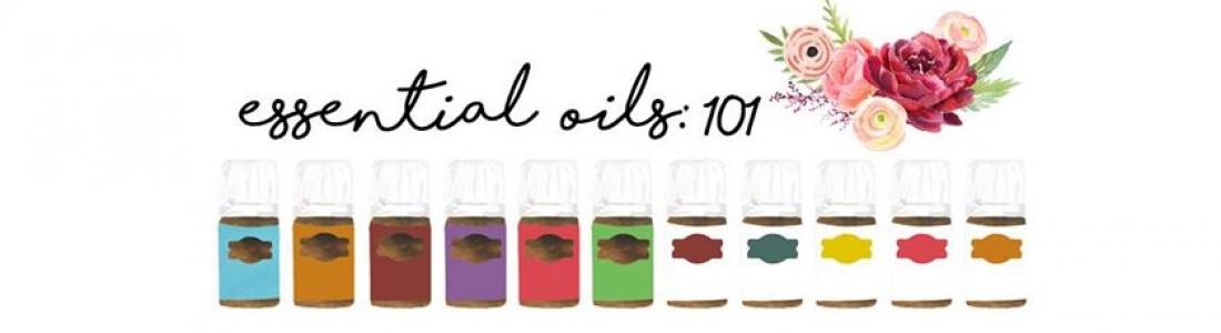 Young Living Essential Oils Class.