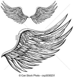 Angel Wing Tattoos For Men On Back.