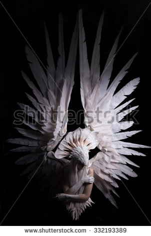 Heavenly Angels Stock Images, Royalty.