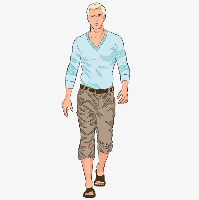 Download Free png Handsome Young Man, Man Clipart, Sunny.