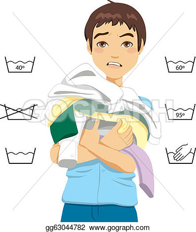 Confused Young Man Clipart.
