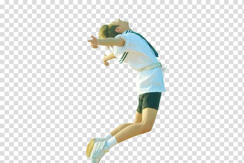 RENJUN NCT DREAM We Young, man wearing white short.