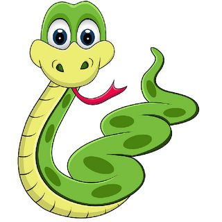 Cartoon Snakes Clip Art Page 2.