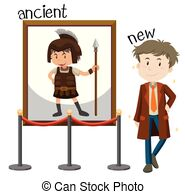 Young vs old Vector Clip Art Royalty Free. 14 Young vs old.