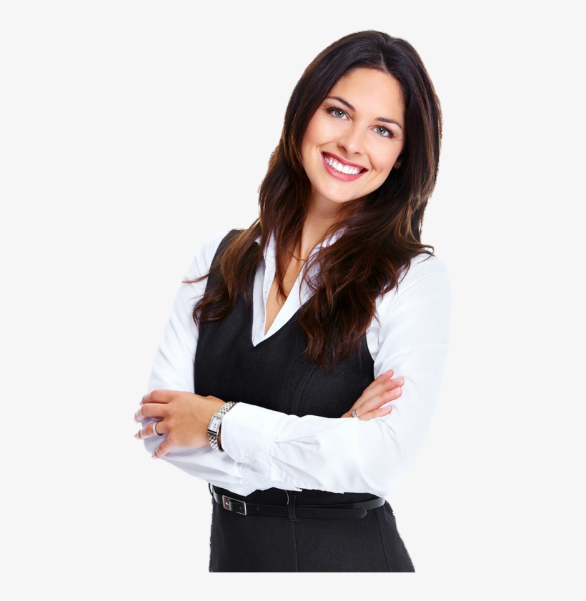 Young Business Woman Png PNG Image.