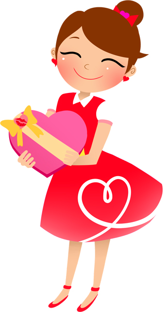 Young Lady Clipart.