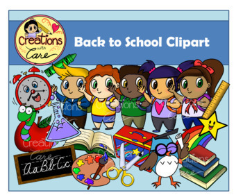 Back to School Clipart Set.