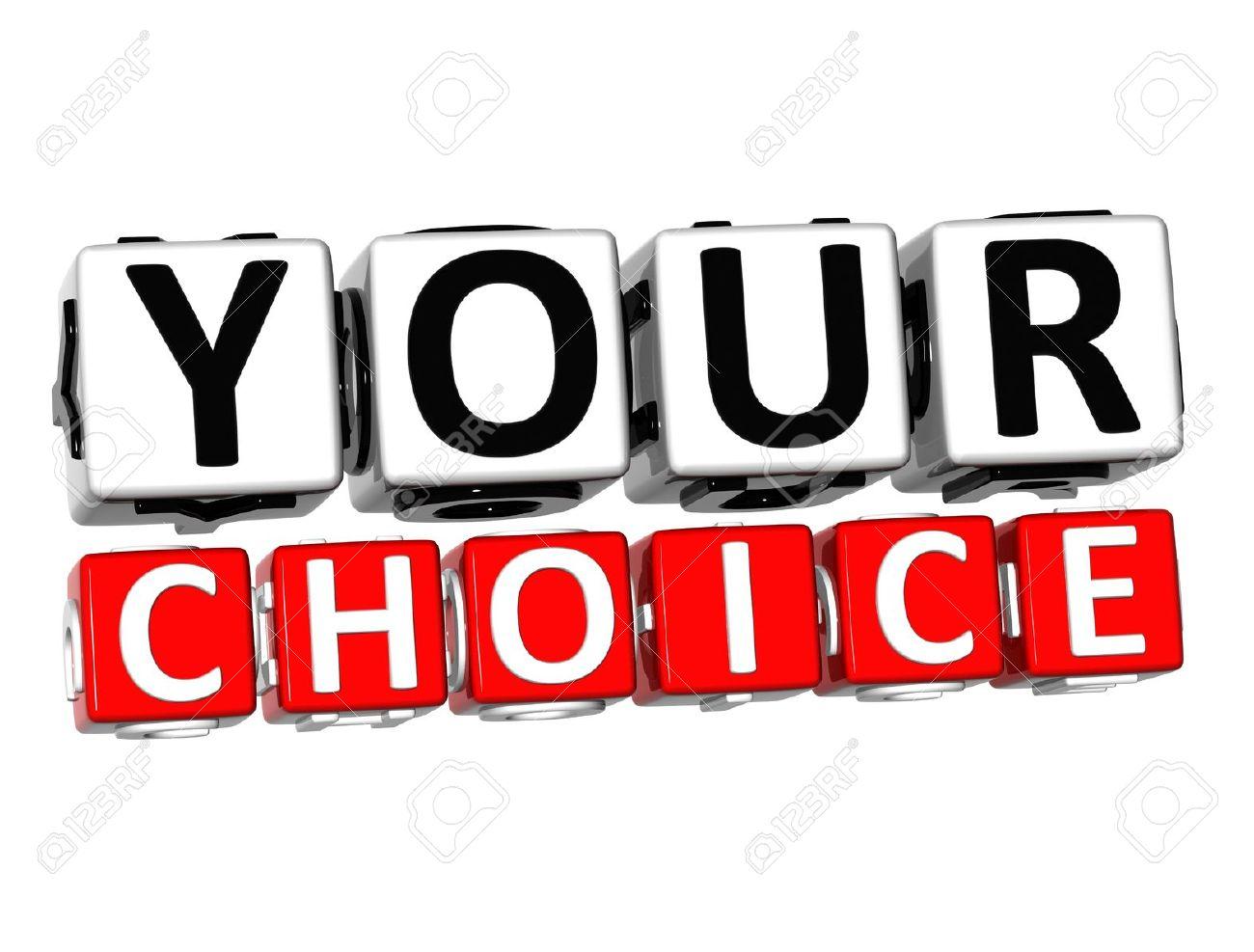 Choice Clipart.