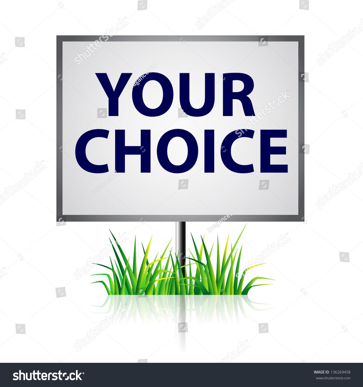 Your choice clipart 8 » Clipart Portal.