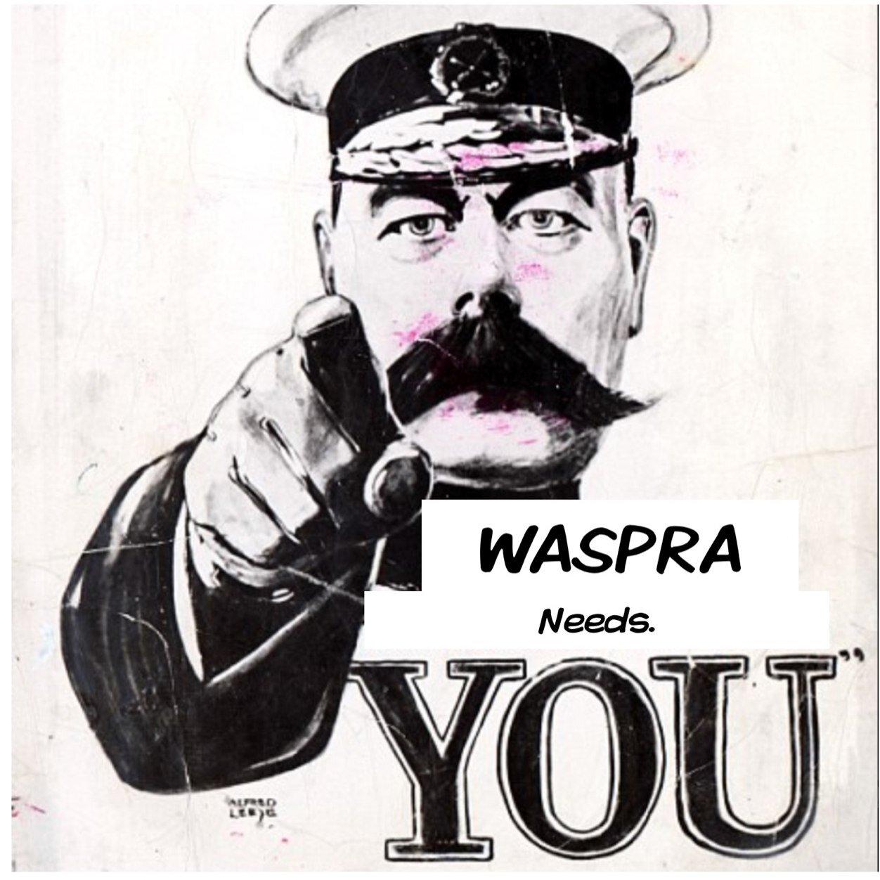 WASPRA on Twitter: \