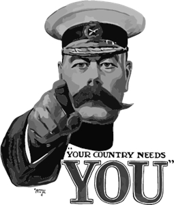 Lord Kitchener Logo Vector (.EPS) Free Download.