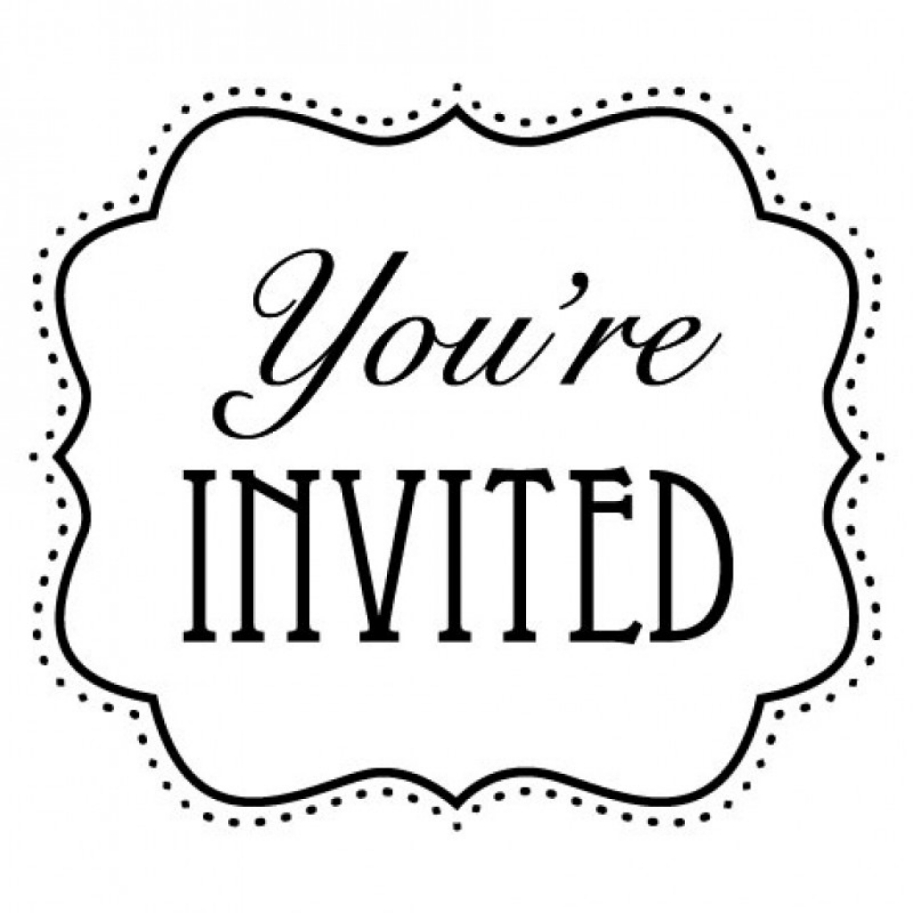 You Re Invited Clip Art, You Re Invited Free Clipart.