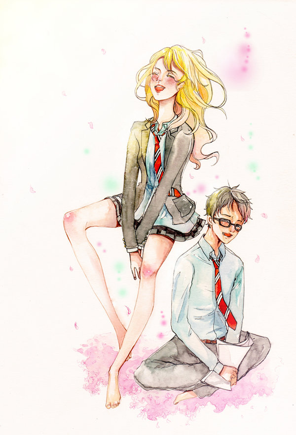 Your Lie in April by chuinny on DeviantArt.