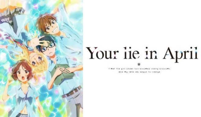 Aniplex of America Announces Your Lie in April English Dub.