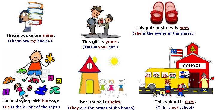 Journeys Unit 6 Lesson 29: Possessive Pronouns.