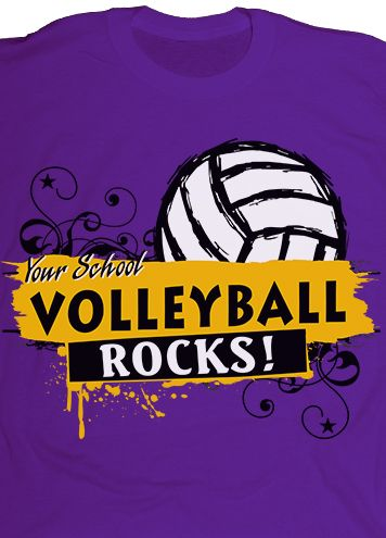 Customize your volleyball team t.