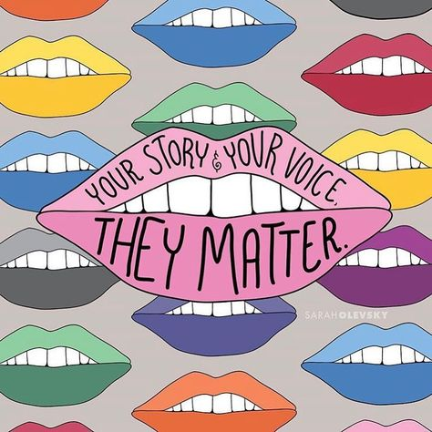 """she/her on Instagram: """"never forget that your voice matters."""