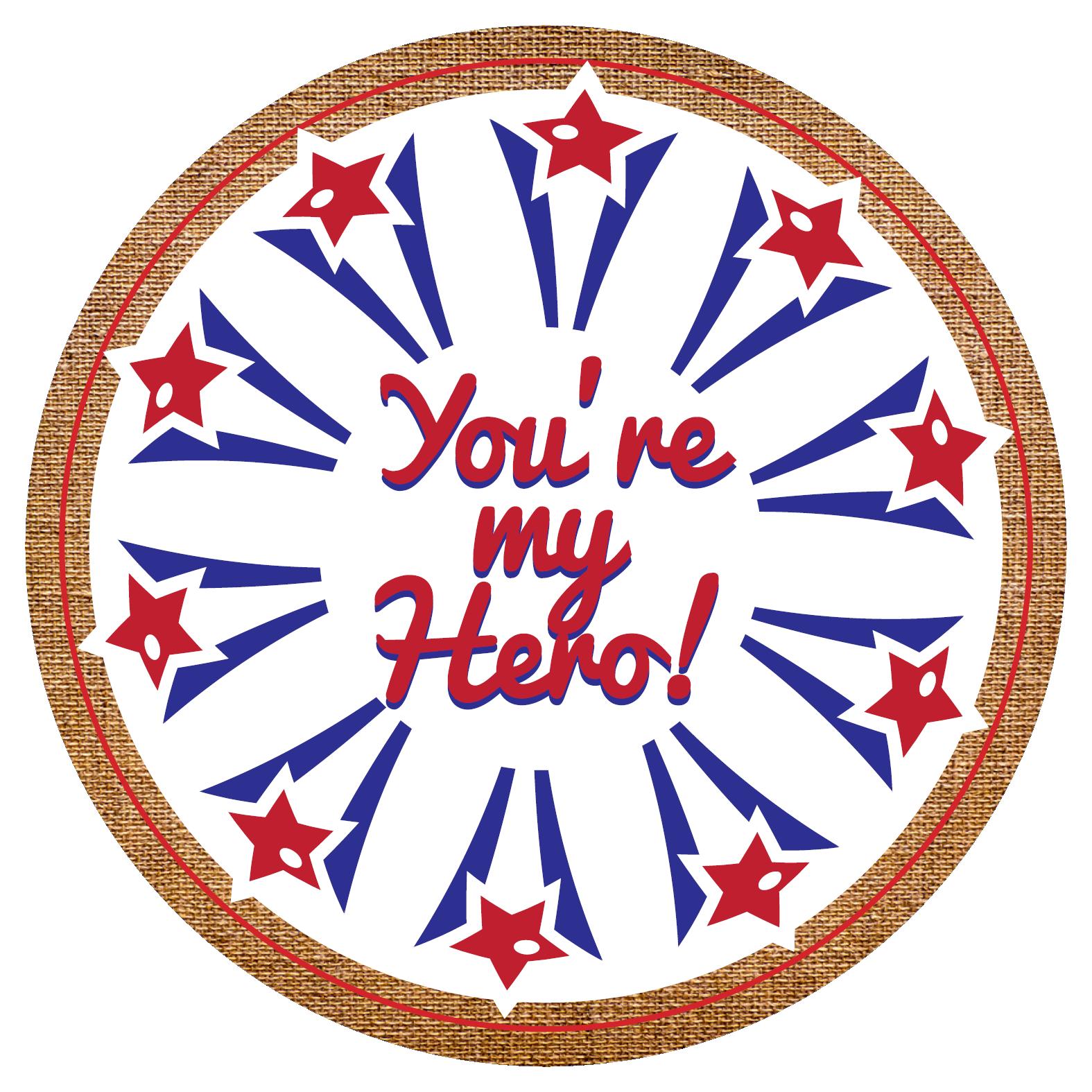 You\'re My Hero Popcorn Gift Tin.