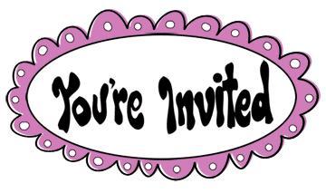 Invitation Clip Art Borders.