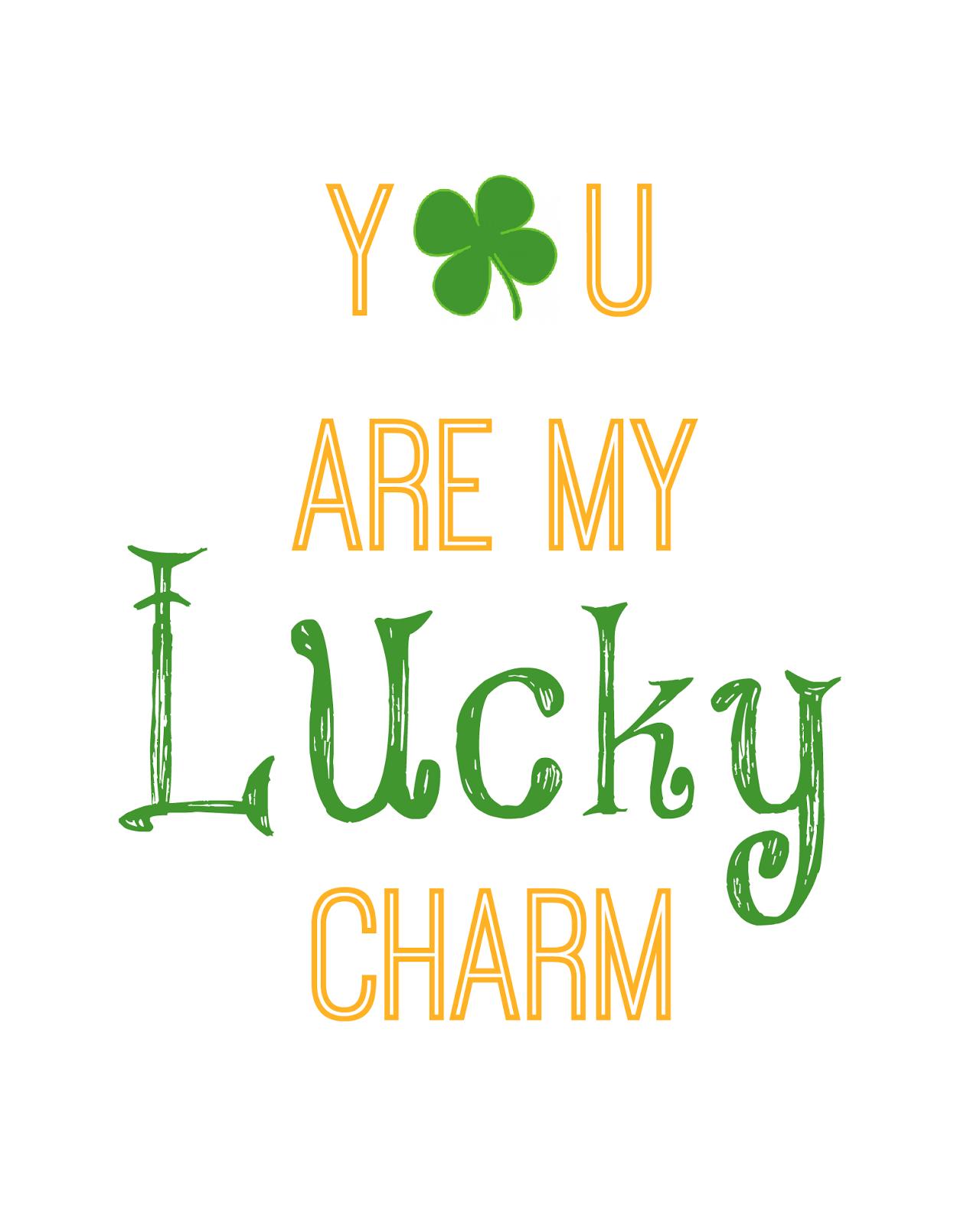 St. Patrick\'s Day Printable.