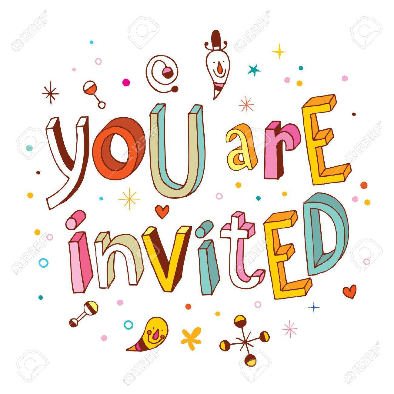 Youre invited clipart 6 » Clipart Portal.