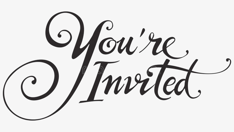 You Re Invited.