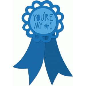 Number One Ribbon Clipart.