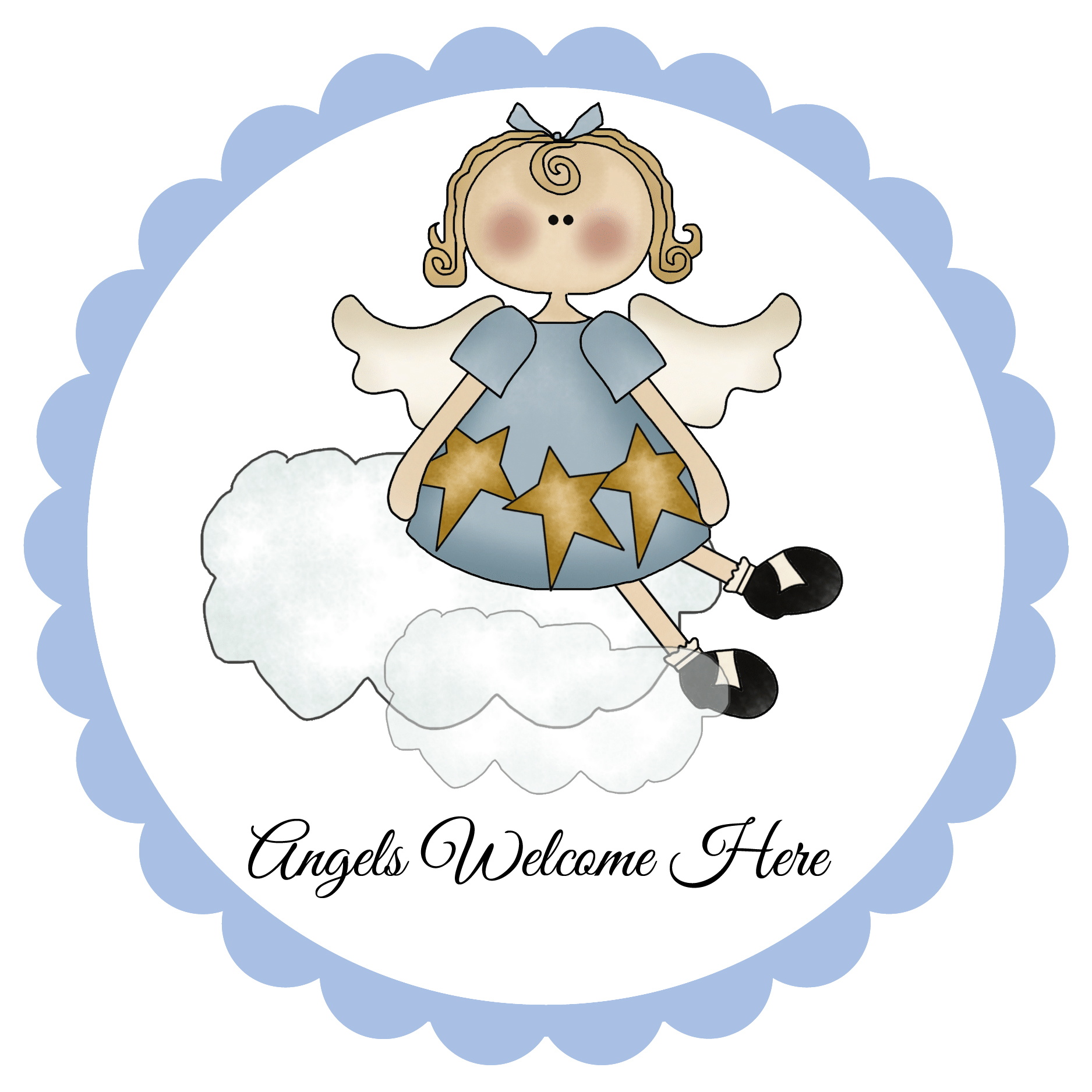 12 Angel Clip Art and Angel Signs + 25 Angel Sayings for.