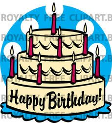 Birthday Candle Clip Art.