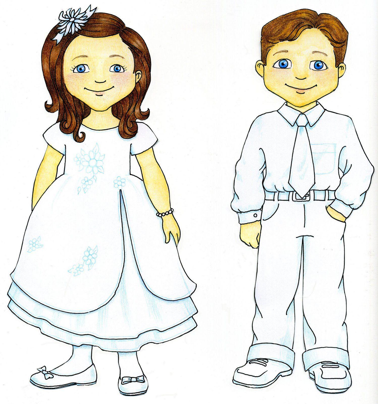 susan fitch design: Baptism Kids.