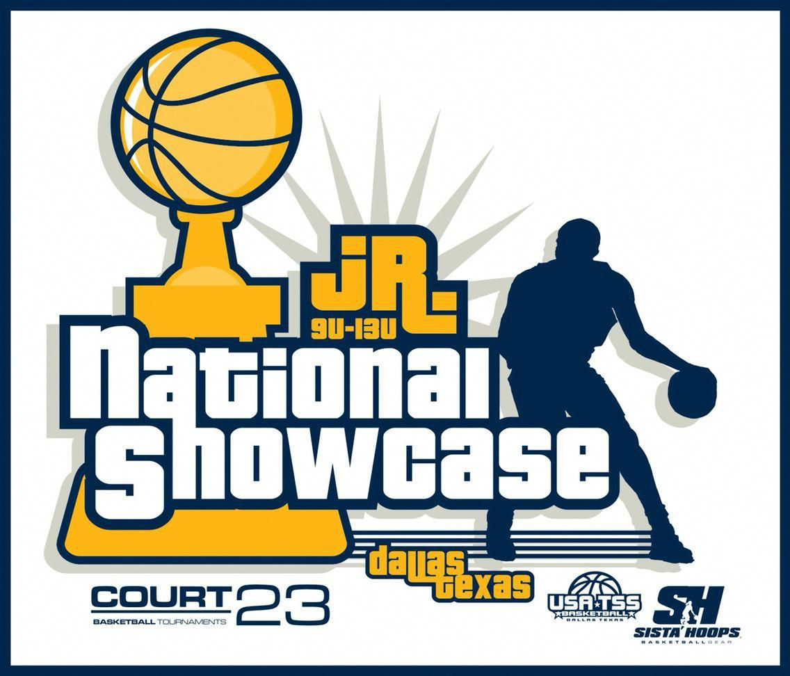 COURT 23 & Sista\' Hoops Junior National Showcase Logo. COURT.