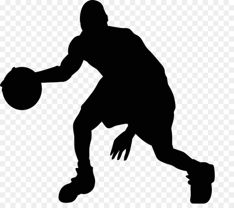 Youth Basketball Silhouette.