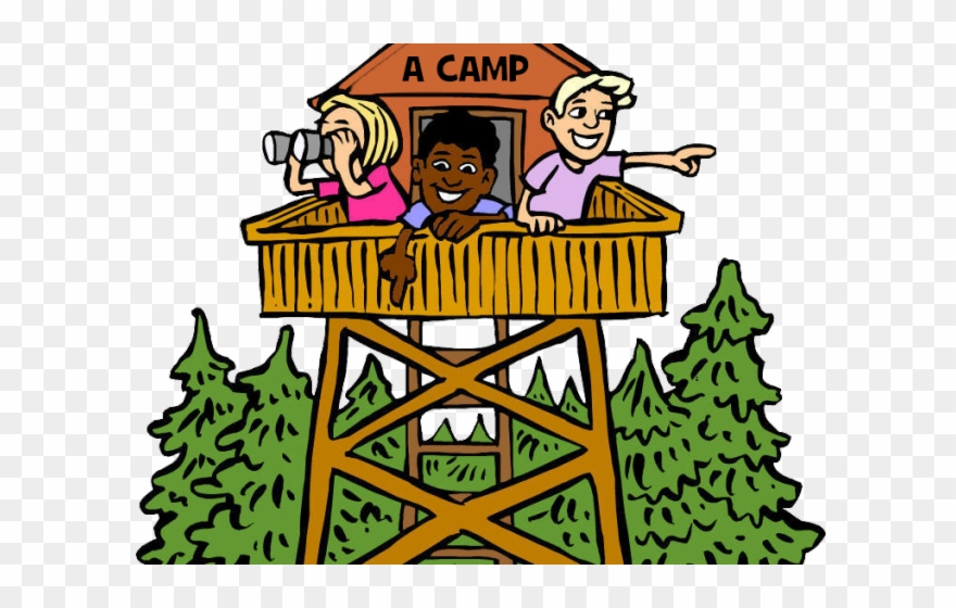 Camping Clipart School Camp.