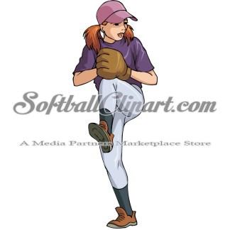 Youth Fastpitch Softball/Baseball Pitcher.