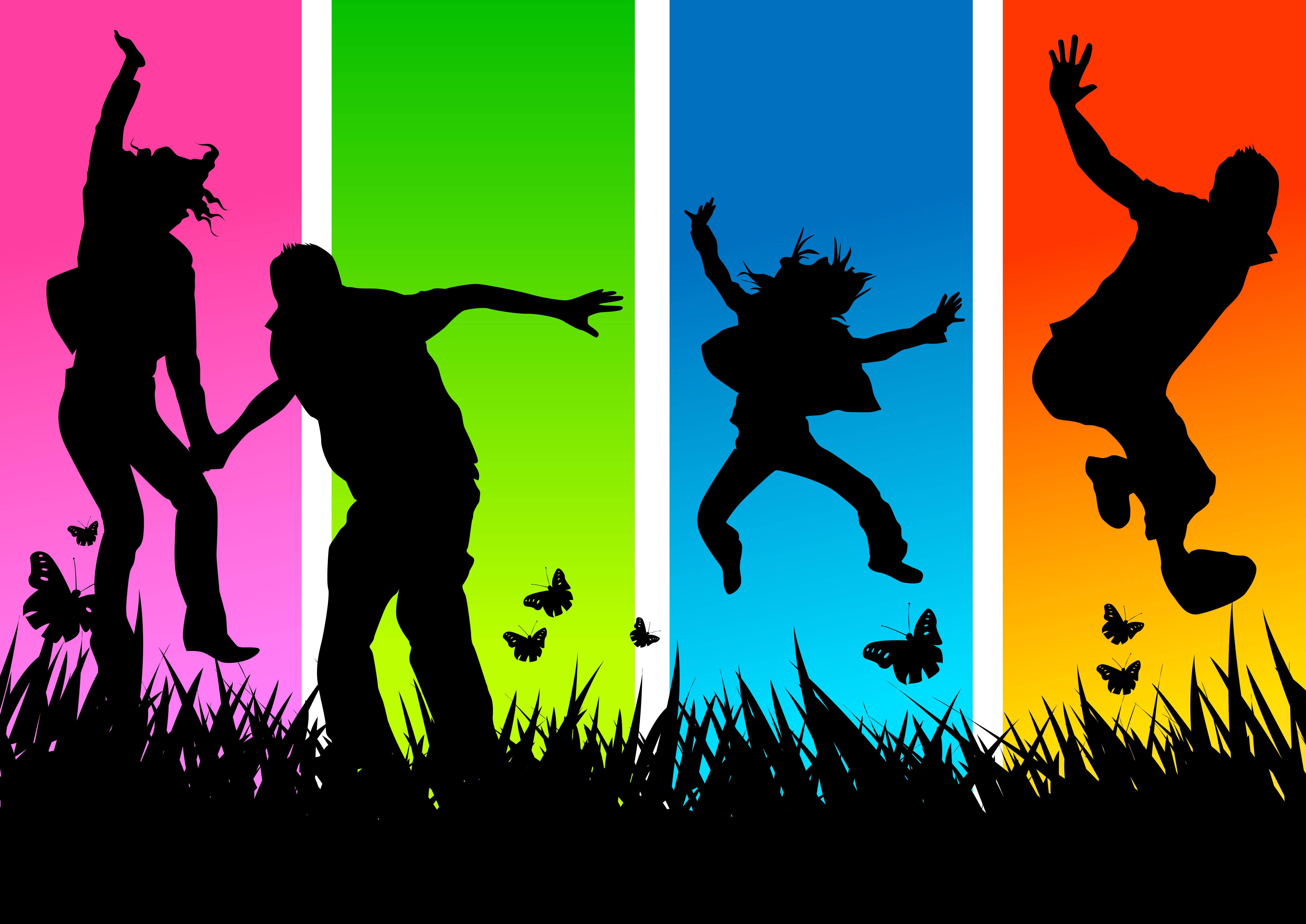 Youth Worship Clipart.