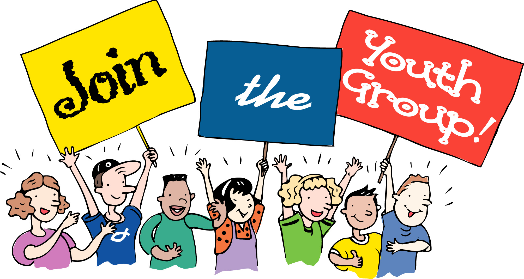 Youth Group Clipart.