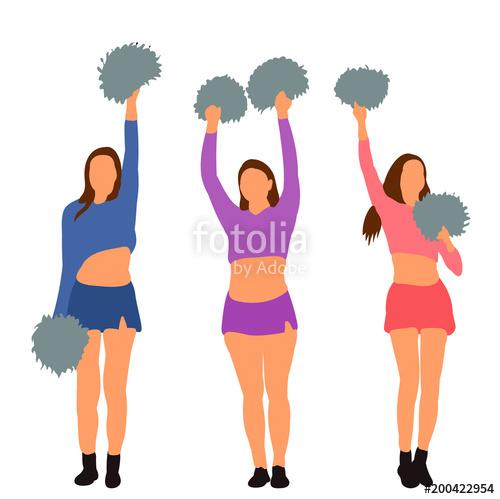 Cheerleading clipart girl cheerleader, Cheerleading girl.