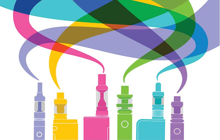 Number of teens vaping hits \'record\' high, survey shows.