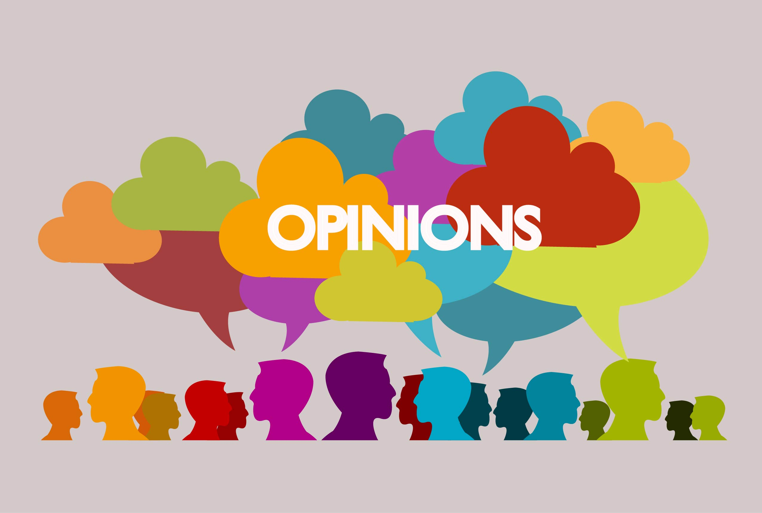 Are our opinions influenced?.