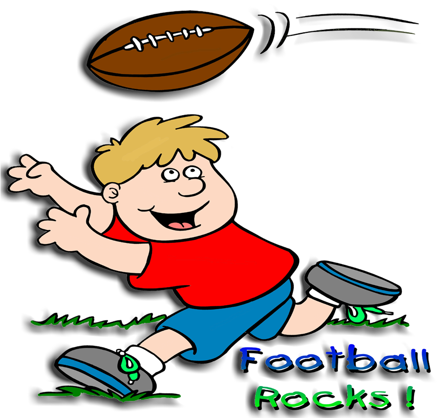 Images For Cartoon Kids Playing Football.