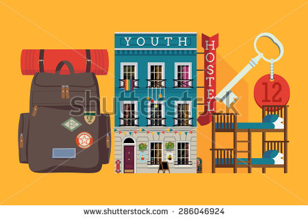 Youth Hostel Clipart (19+).