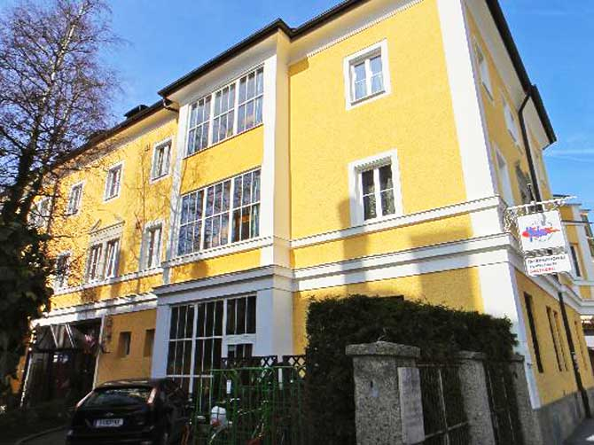 Salzburg Hostel.